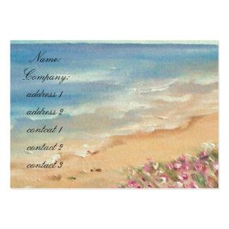 Seascape Large Business Card