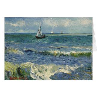 Seascape Les Saintes-Maries-de-la-Mer by Van Gogh Card