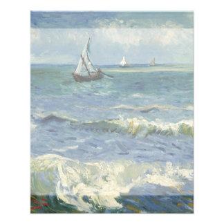 Seascape Les Saintes-Maries-de-la-Mer by Van Gogh Flyer