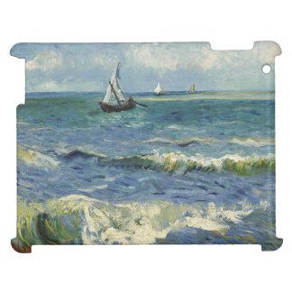 Seascape Les Saintes-Maries-de-la-Mer by Van Gogh iPad Cases