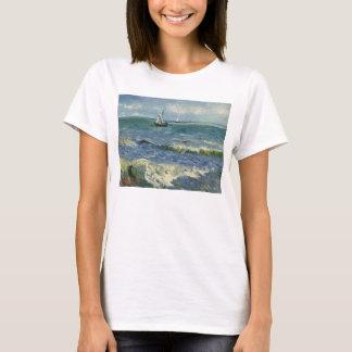 Seascape Les Saintes-Maries-de-la-Mer by Van Gogh T-Shirt