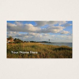 Seascape & Lighthouse Business Card