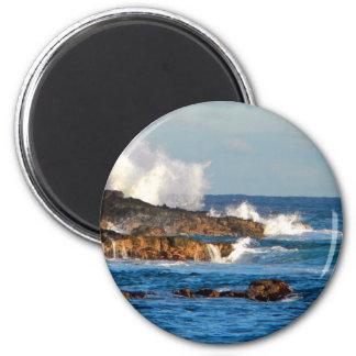 Seascape Fridge Magnet