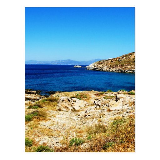 Seascape - Mykonos, Greece Postcard