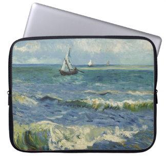 Seascape near Les Saintes-Maries-de-la-Mer Laptop Sleeve