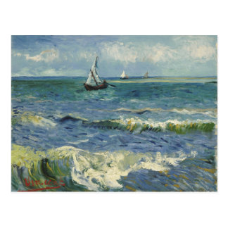 Seascape near Les Saintes-Maries-de-la-Mer Postcard