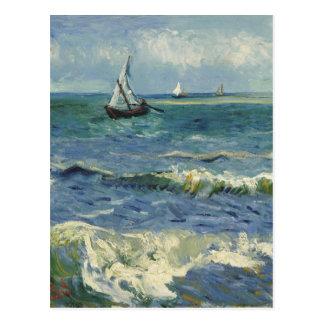 Seascape near Les Saintes-Maries-de-la-Mer Postcards