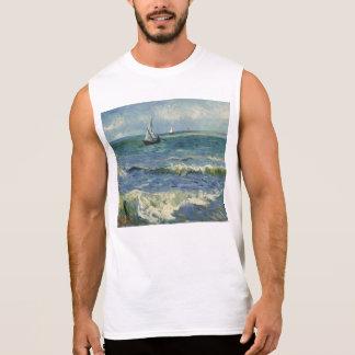 Seascape near Les Saintes-Maries-de-la-Mer Sleeveless Shirt