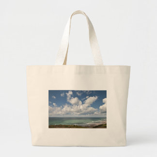 Seascape of the french Atlantic coast Canvas Bag