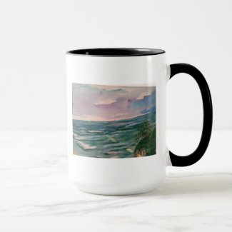 Seascape off the California Coast Mug