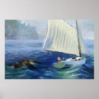 Seascape Painting: