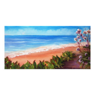 Seascape Photo Card
