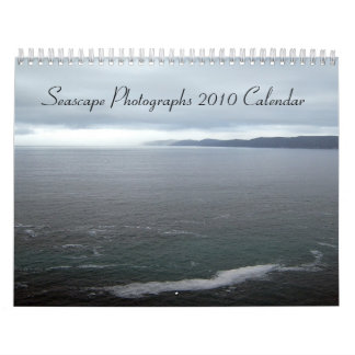Seascape Photographs, 2010 Calendar
