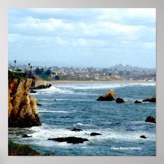 SEASCAPE, Pismo Beach California Posters