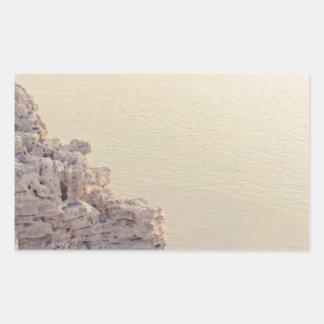 Seascape Rectangular Sticker