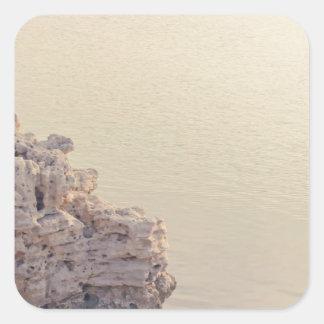 Seascape Square Sticker