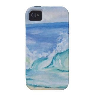 Seascape Vibe iPhone 4 Case