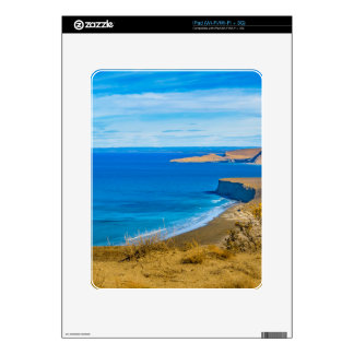 Seascape View from Punta del Marquez Viewpoint Decals For iPad