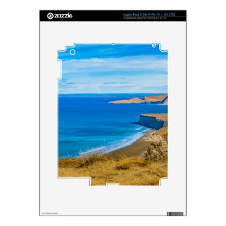 Seascape View from Punta del Marquez Viewpoint iPad 3 Skin