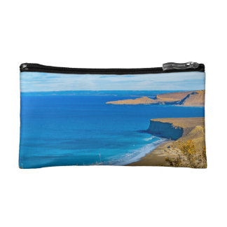 Seascape View from Punta del Marquez Viewpoint Makeup Bag