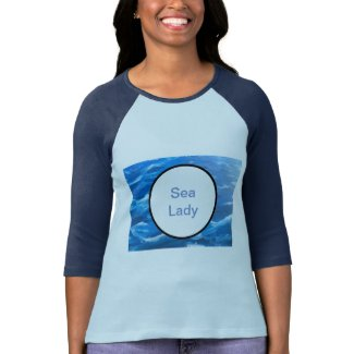 Seascape & Waves, Sea Lady Tshirt