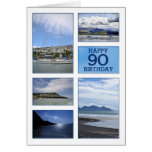 Seascapes 90th birthday card