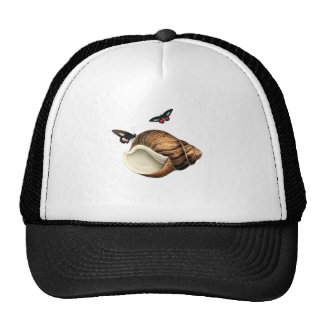 Seashell And Butterflies Trucker Hat
