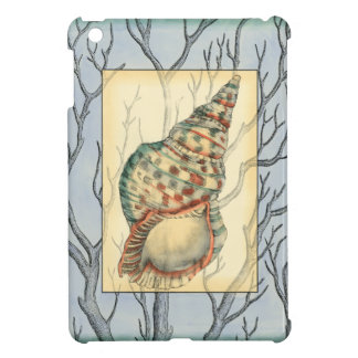 Seashell and Tree Branches iPad Mini Case