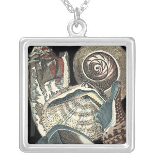 Seashell Anthology Silver Plated Necklace