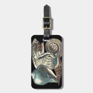 Seashell Anthology Tag For Luggage