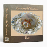 Seashell at Low Tide Coordinating Items 3 Ring Binders