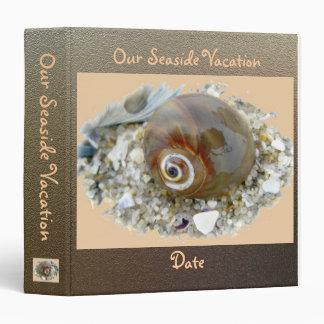 Seashell at Low Tide Coordinating Items Binder