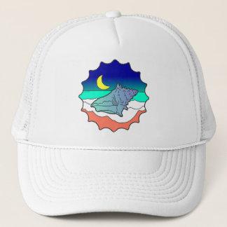 Seashell at Moonlight Trucker Hat