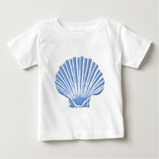 Seashell azul playera