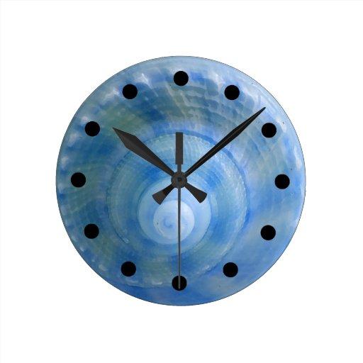 Seashell bath set wall clock zazzle for Seashell clock