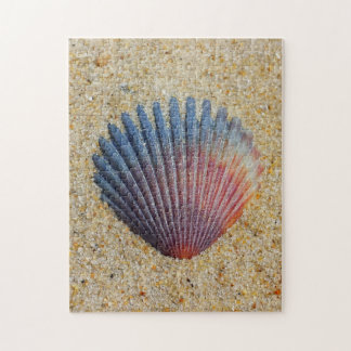 Seashell Buried In Sand Jigsaw Puzzle