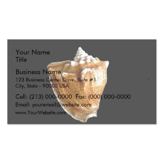 Seashell Business Cards