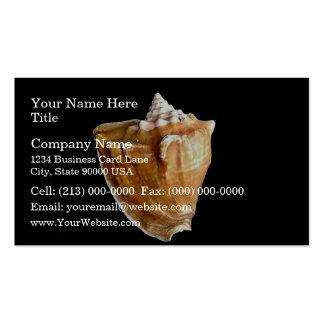 Seashell Business Card Template