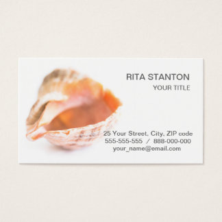 Seashell Business Card