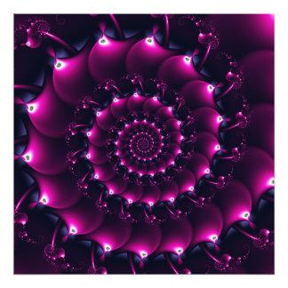 Seashell de la Atlántida (púrpura) Fotografías