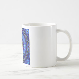 Seashell del caleidoscopio taza de café