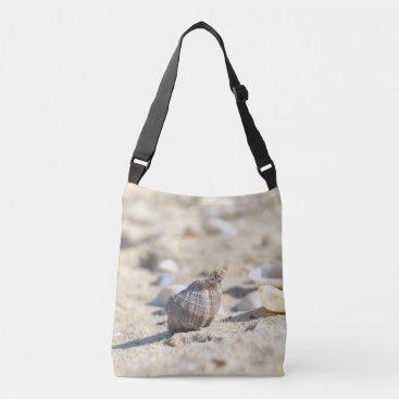 Beach Themed Seashell design crossbody bag
