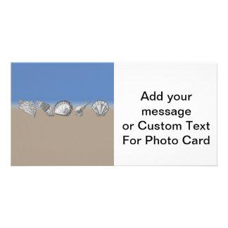 Seashell Drawing Art Card