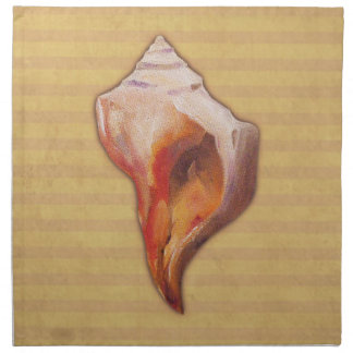 Seashell from Beach for Conch and Welk Shell Colle Napkin
