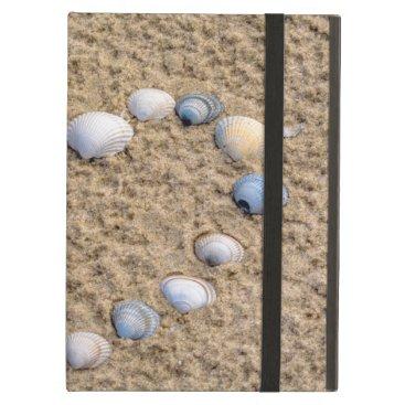 Beach Themed Seashell heart case for iPad air