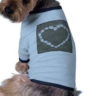 Seashell Heart Doggie Tee Shirt