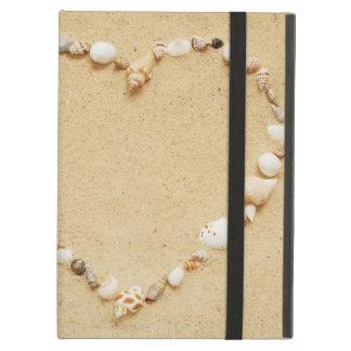 Seashell Heart iPad Air Cover