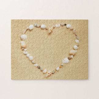 Seashell Heart Puzzles