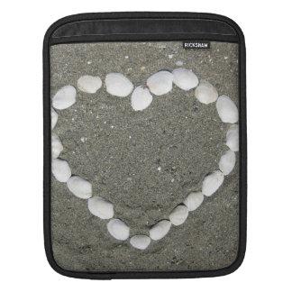 Seashell Heart Sleeves For iPads