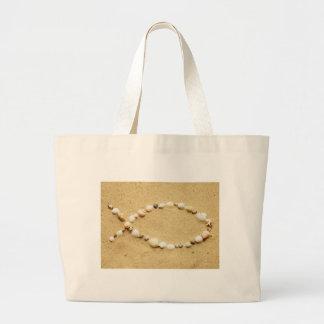 Seashell Ichthys Jumbo Tote Bag